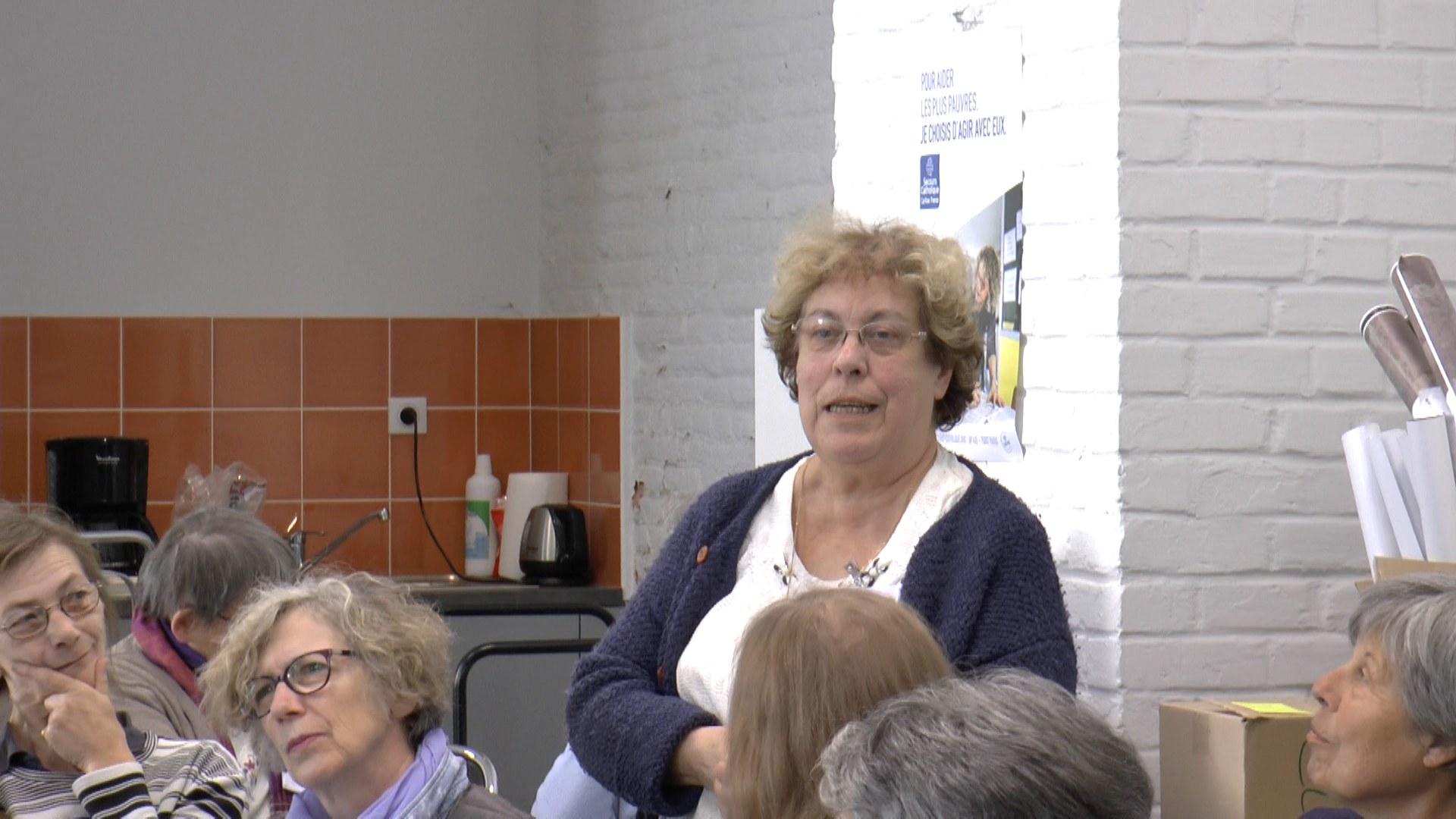5. Andrée présente l'équipe de St. Denis en Solesmois