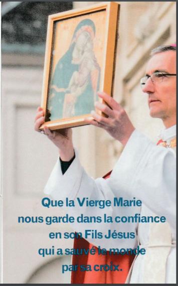 Signet Prier la Vierge Marie