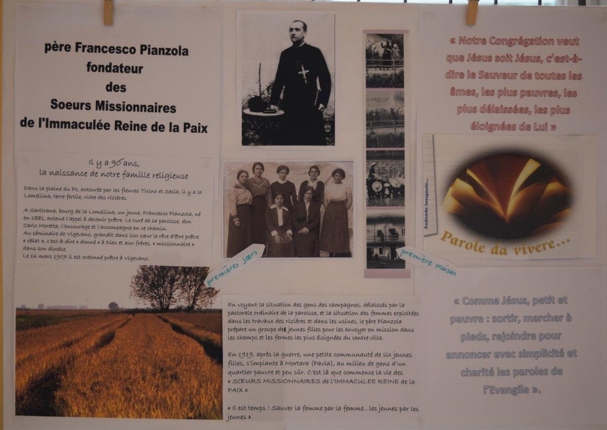 Soeurs Missionnaires de l'Immaculée Reine de la Pa