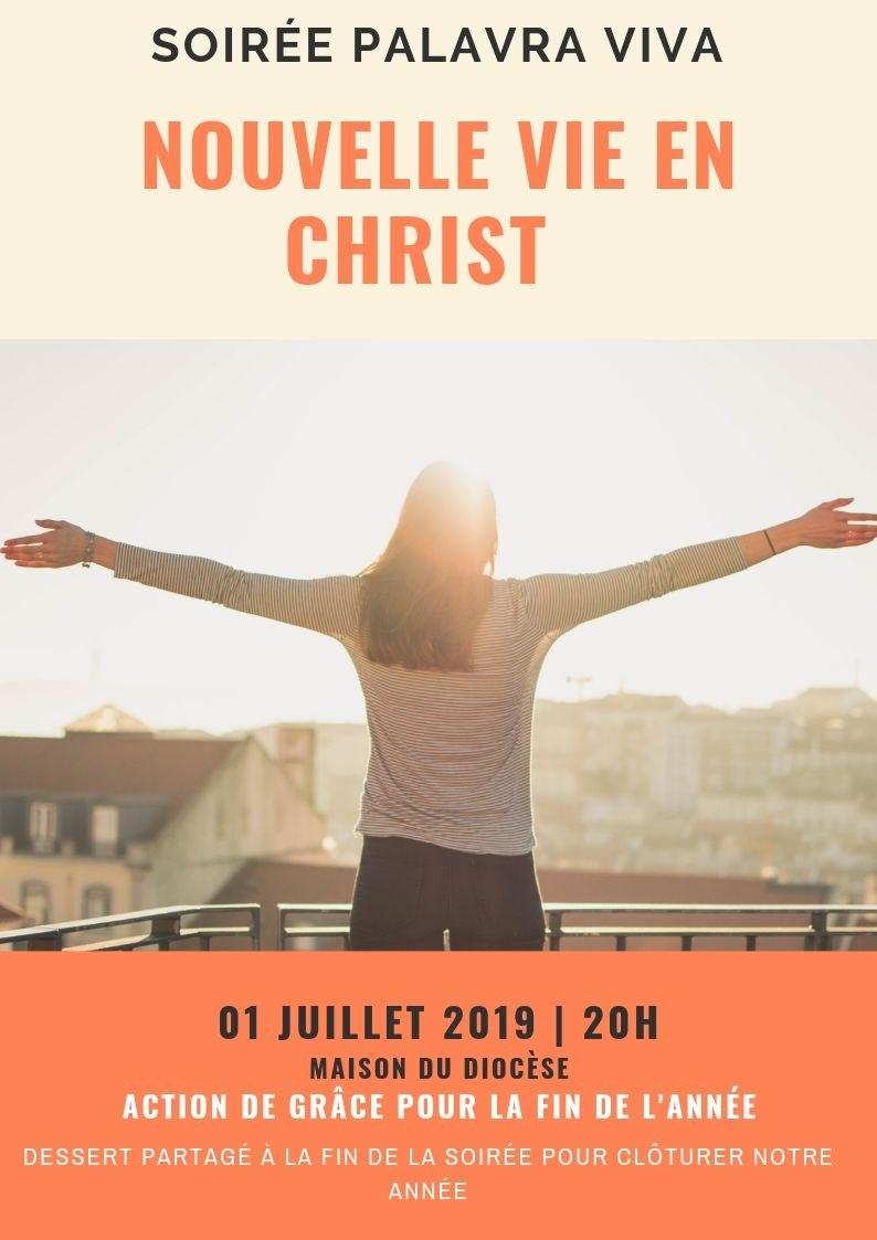 Soiree Palavra viva Juillet 2019