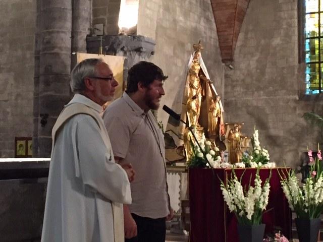 St cordon neuvaine jour 2 - Duo André Axel pour le