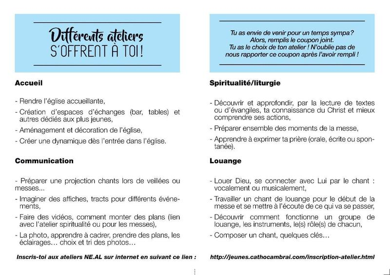 tract ATELIER NEAL interieur