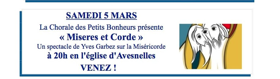 TRACT MISE#RES & CORDE