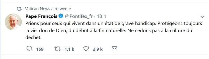 Tweet-pape_francois_vincent_Lambert
