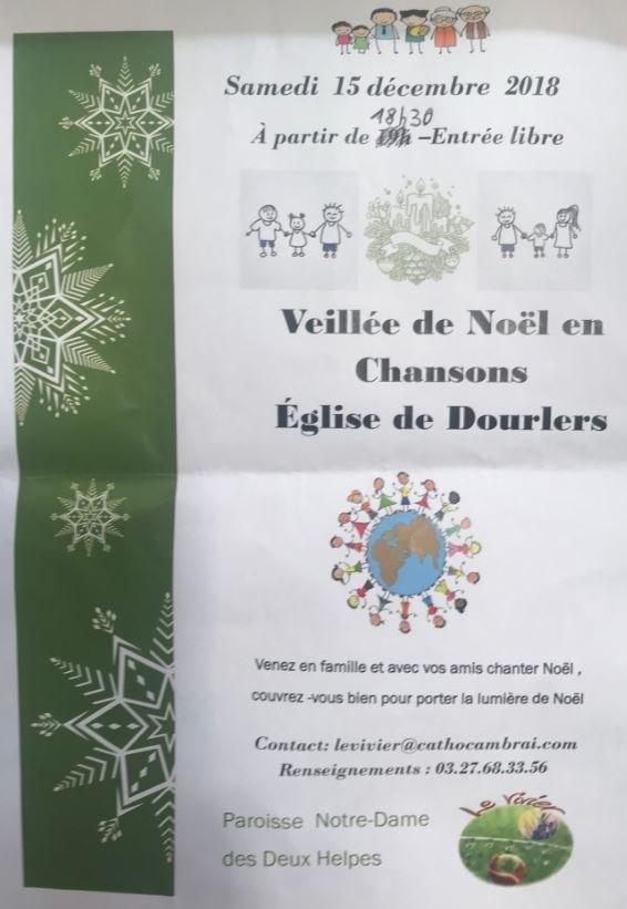 VEILLEE DE NOEL 0 DOURLERS