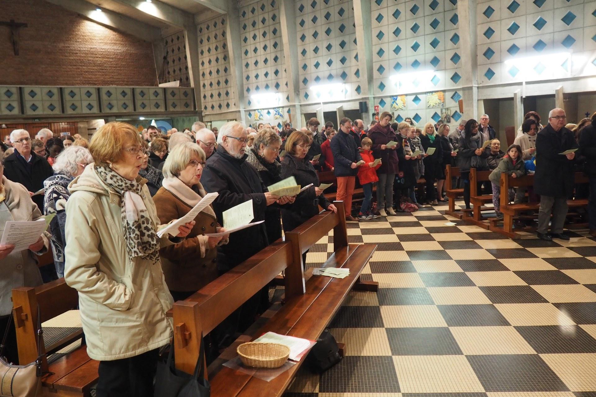 Veillée de Noël à Lambres 35