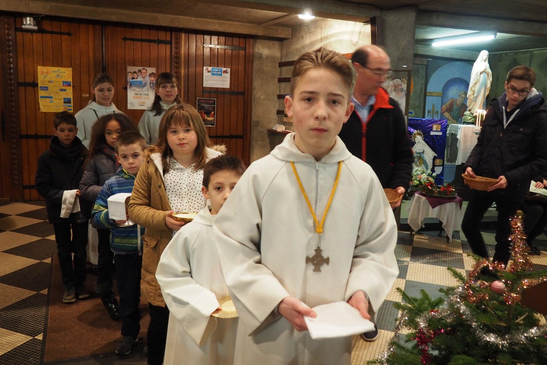 Veillée de Noël à Lambres 44