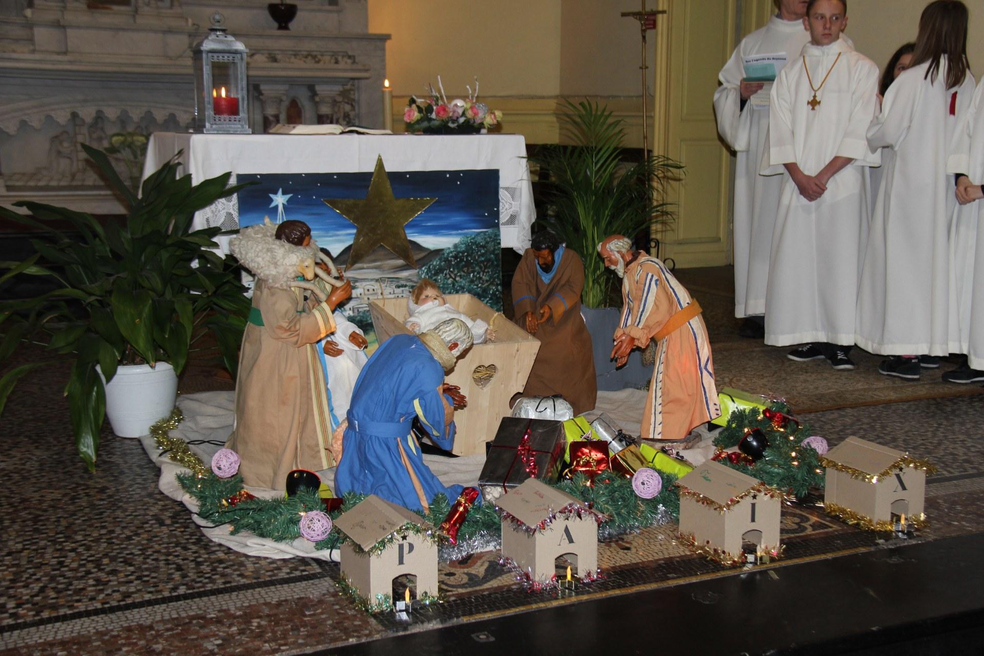Veillée de Noël St Martin 38