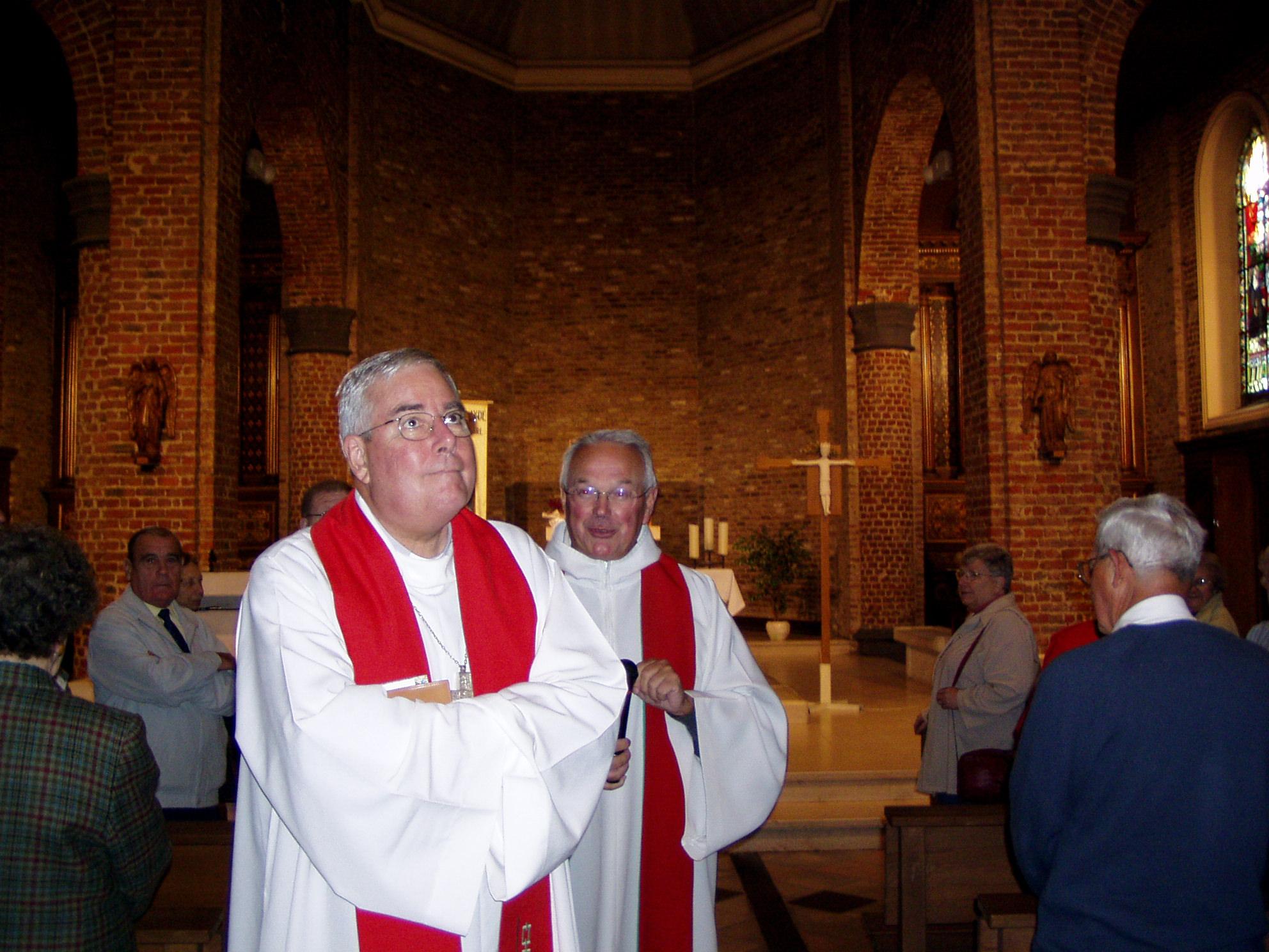 Visite de l'église de Jeumont
