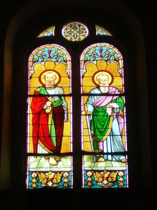 vitrail St Pierre St Paul