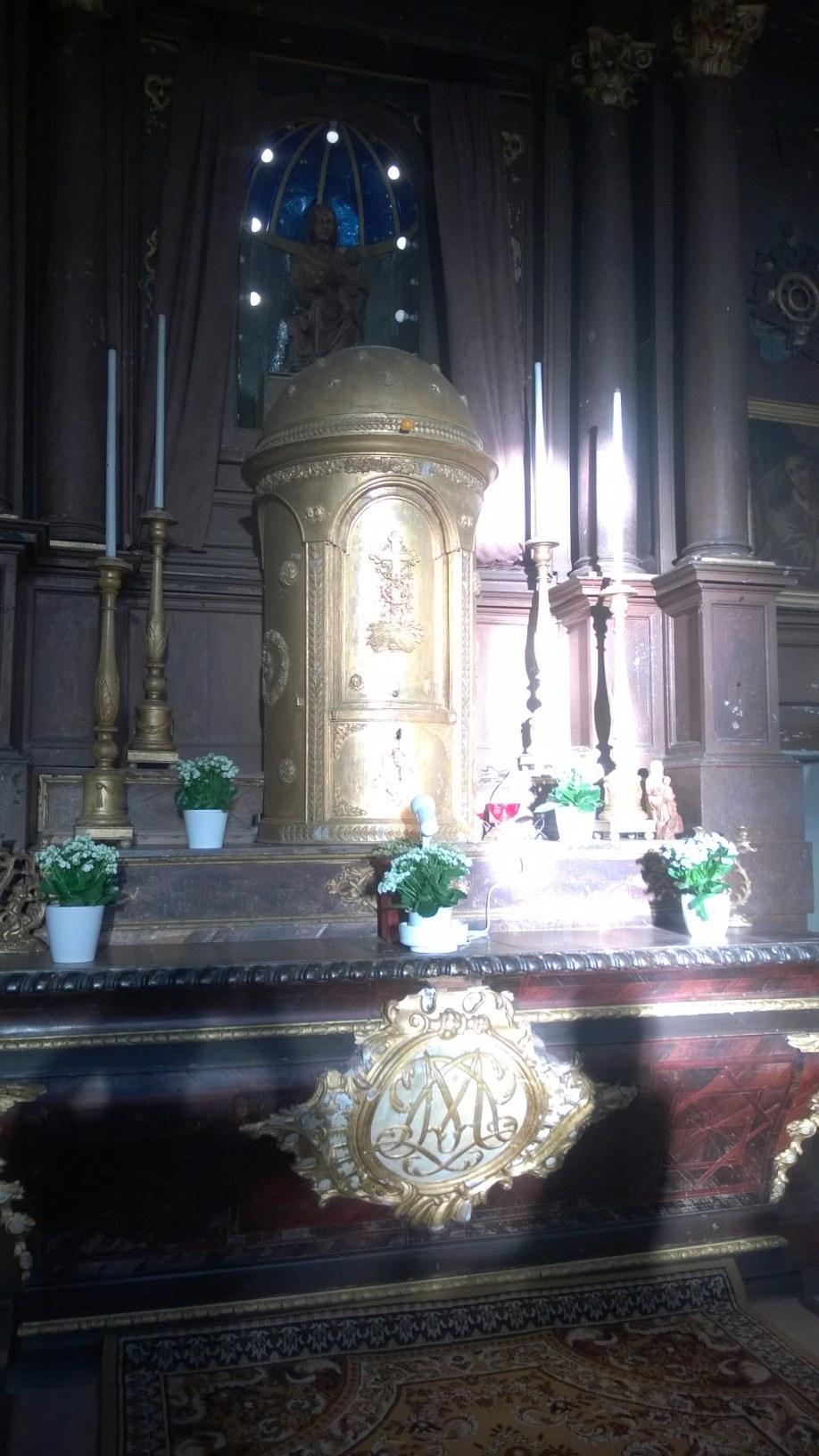 le Tabernacle 'illuminé'